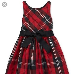 POLO Ralph Lauren tartan fit and flare size 4t